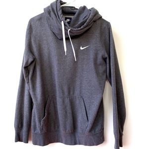 Nike | Women's Funnel Cowl Neck Hoodie Sweatshirt